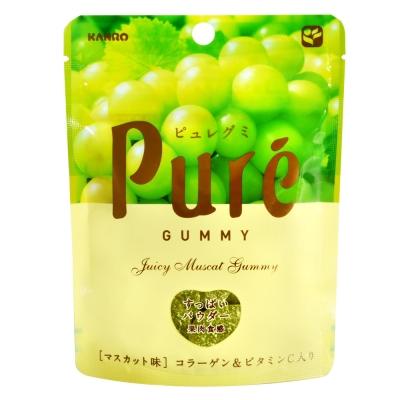 KANRO Pure青葡萄軟糖(56g)