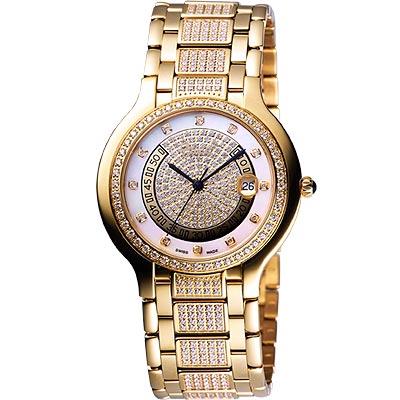 Ogival 貴族皇家珠寶腕錶(金)