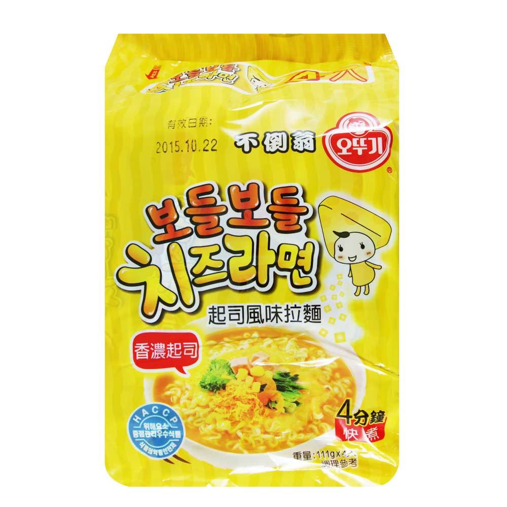 韓國不倒翁OTTOGI 起司風味拉麵(111gx4包)