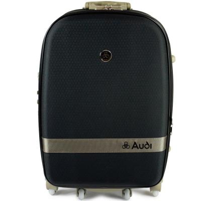 【Audi 奧迪】20吋新蜂巢格8輪360度~行李箱旅行箱 LT-71520-黑