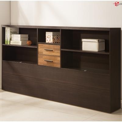 日本直人木業傢俱-BRAC層木床邊櫃(212x24x107cm)免組