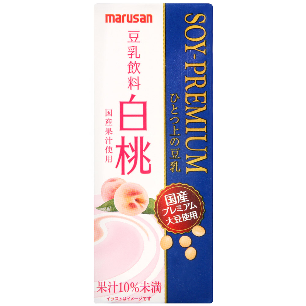 Marusanai 一上豆乳-白桃風味(200ml)