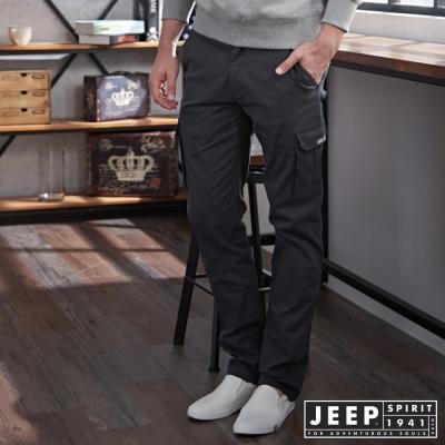 JEEP 多口袋設計工作褲 -鐵灰