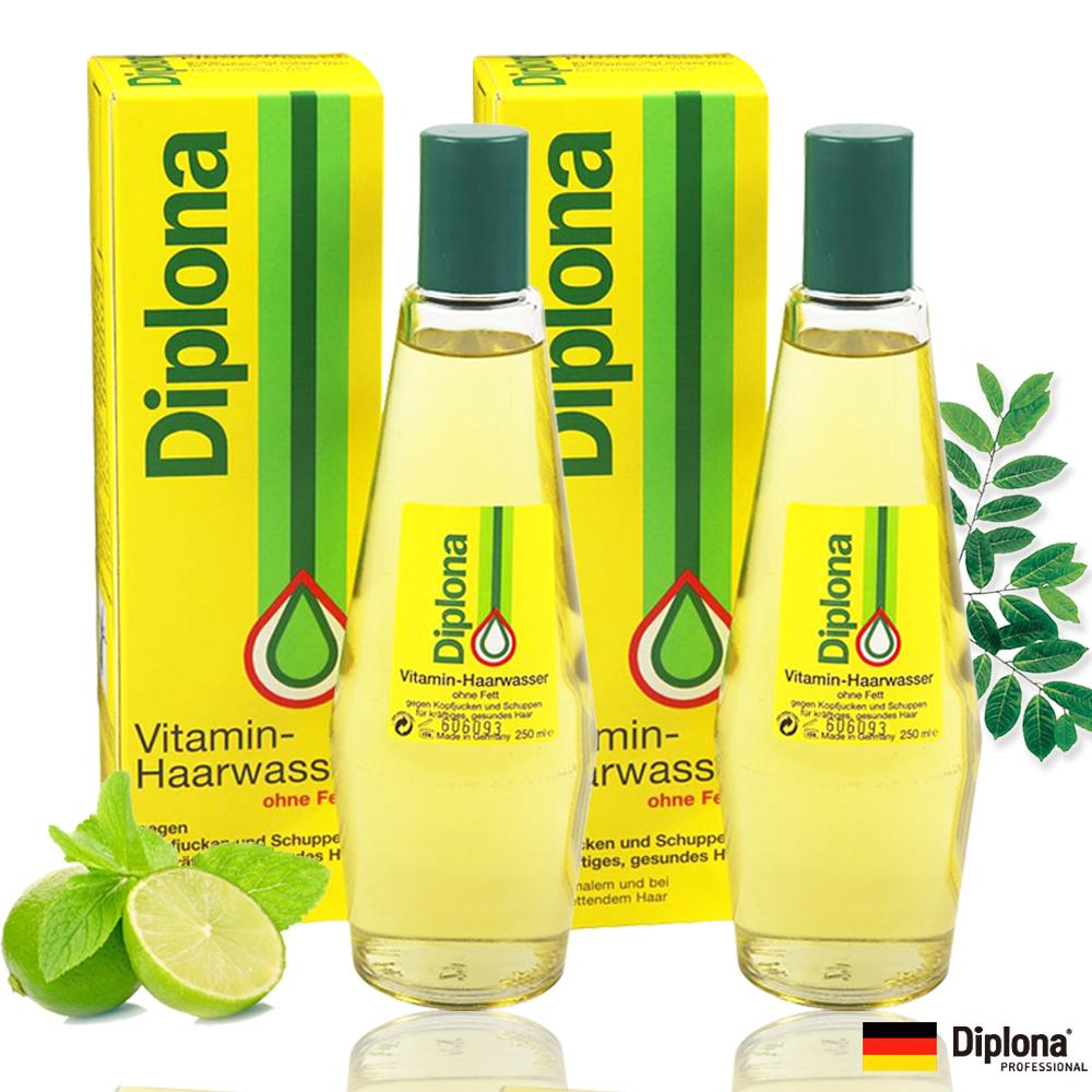 【德國Diplona 專業級】植萃維生素育毛2件組