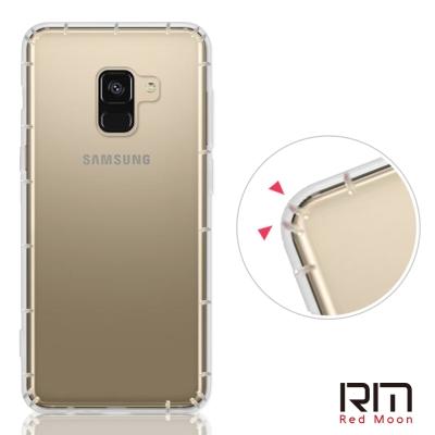 RedMoon 三星 Galaxy A8-2018 (5.6吋) 防摔透明TPU...