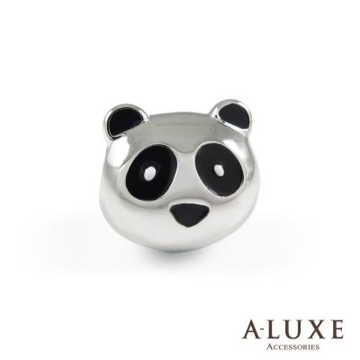 Charming系列 925純銀珠飾- 趴趴熊 Lazy Panda