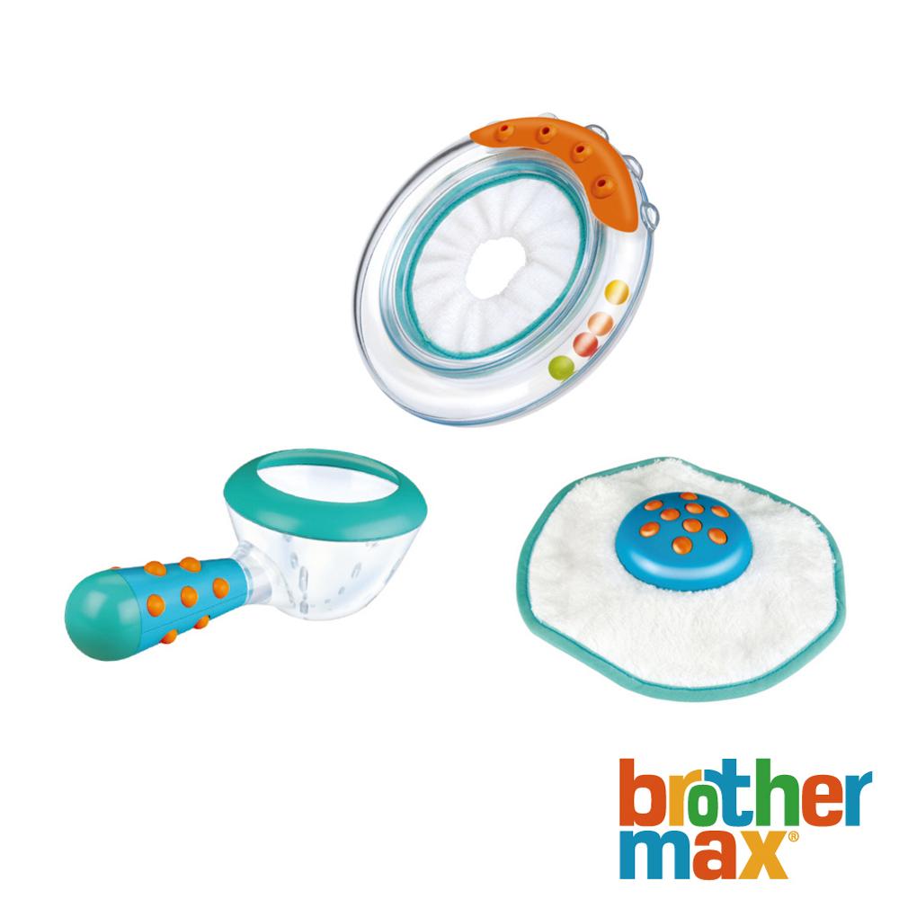 英國 Brother Max 感溫洗澡教學玩具組【3 種玩具】