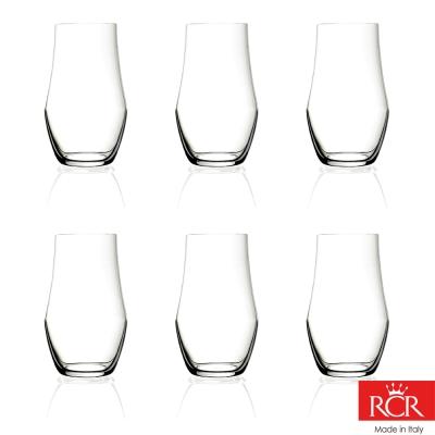 義大利RCR歐德無鉛水晶果汁杯 (6入)460cc