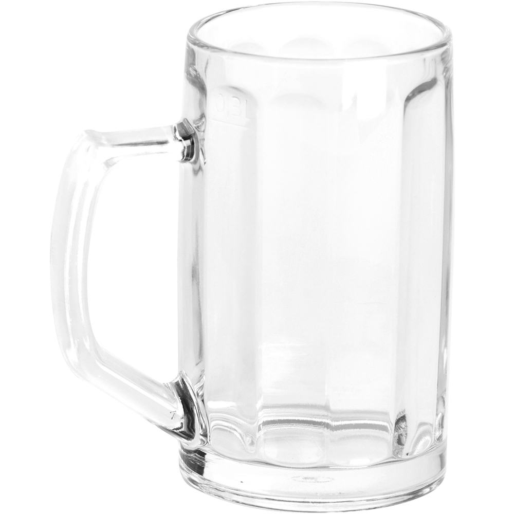 EXCELSA 經典直紋啤酒杯(300ml)