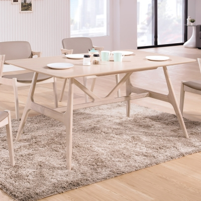 Boden-萊多5尺北歐風餐桌-150x90x75cm
