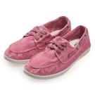 (女)Natural World 西班牙休閒鞋 刷色3孔綁帶款*粉色