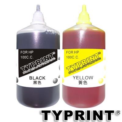TY 『HP專用』 連續供墨補充墨水100CC (黑+黃)