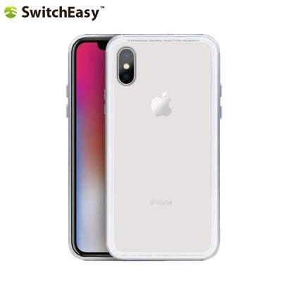 SwitchEasy Glass iPhone X 金屬邊框防爆玻璃背蓋保護殼