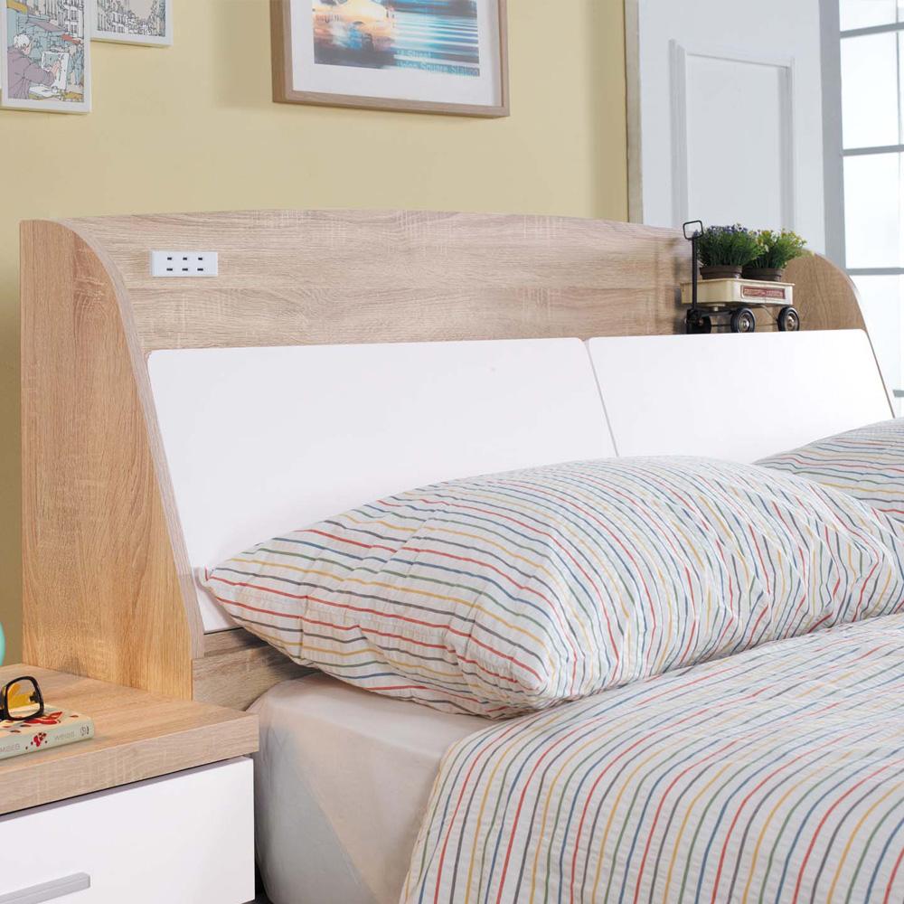 床頭箱 雙人5尺 傑克被櫥式床頭 品家居