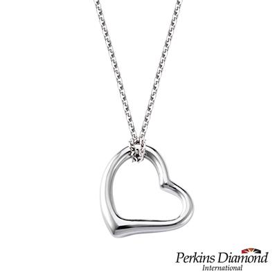 PERKINS 伯金仕 - 心形系列 925純銀項鍊