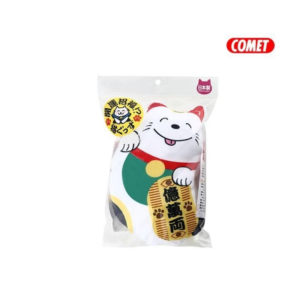 日本COMET 木天蓼玩具 招財貓踢枕