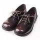 (女)日本 HARUTA 3孔綁帶學生鞋4902-咖啡色 product thumbnail 1