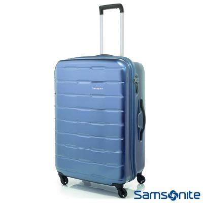 Samsonite新秀麗-28吋Spin-Trunk-PC硬殼行李箱-淺藍