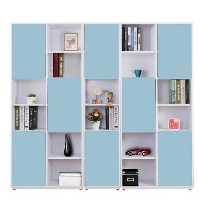 AT HOME-蒂芬妮6.7尺彩色組合八門書櫃(五色可選)