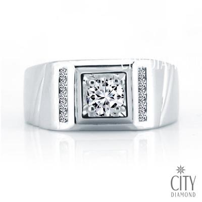 City Diamond『英士伯爵』32分男鑽戒