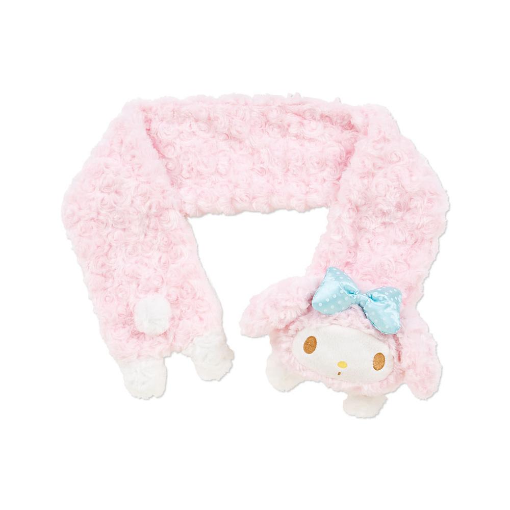 《Sanrio》美樂蒂玫瑰絨圍巾