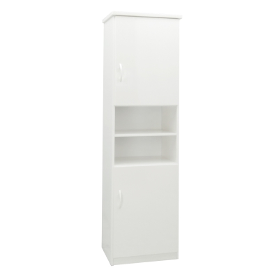 品家居 莫提1.5尺環保塑鋼二門鞋櫃(五色可選)-43x33x180cm-免組