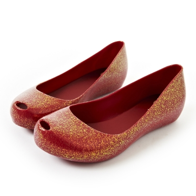 Melissa 經典魚口鞋-紅