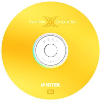 錸德 RiTEK 16X DVD+R 100片裝