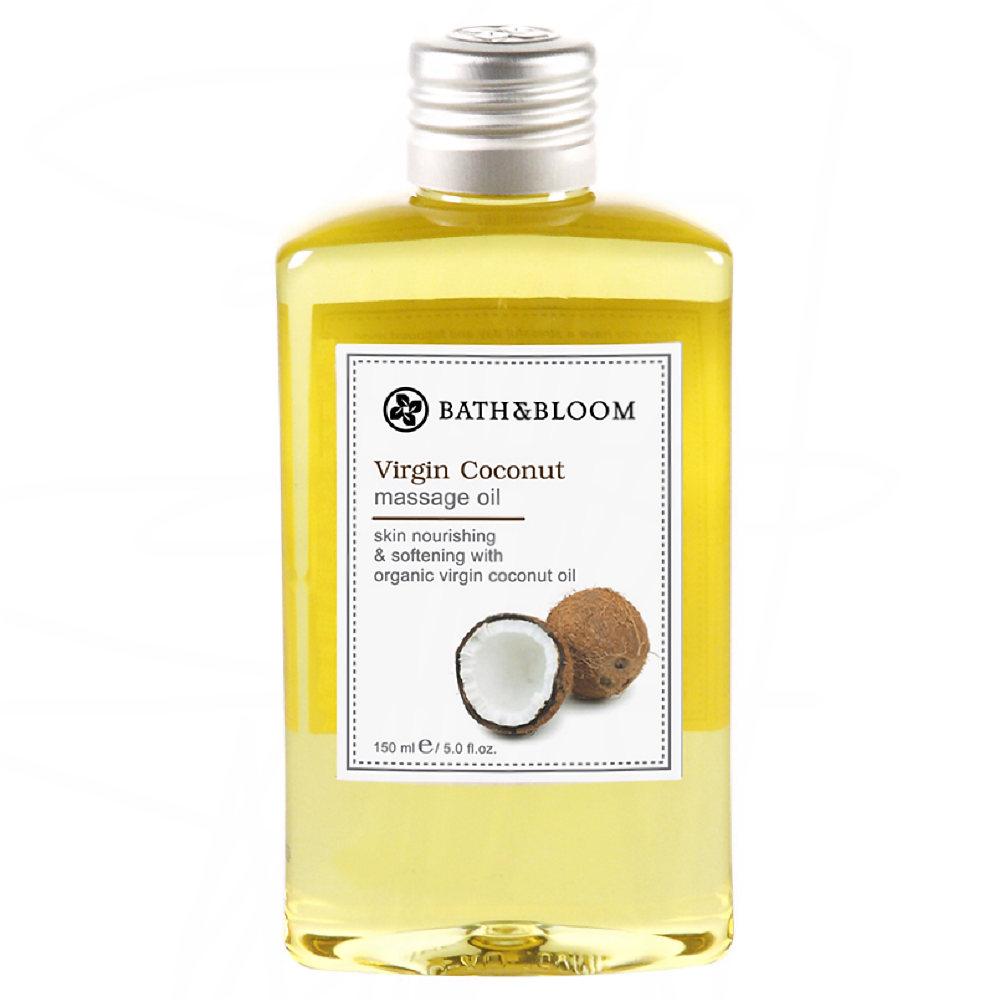 Bath & Bloom 冷萃椰子純天然植物按摩油 170ml