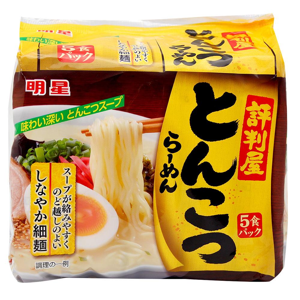 明星食品 評判屋-豚骨包麵5入組(445g)