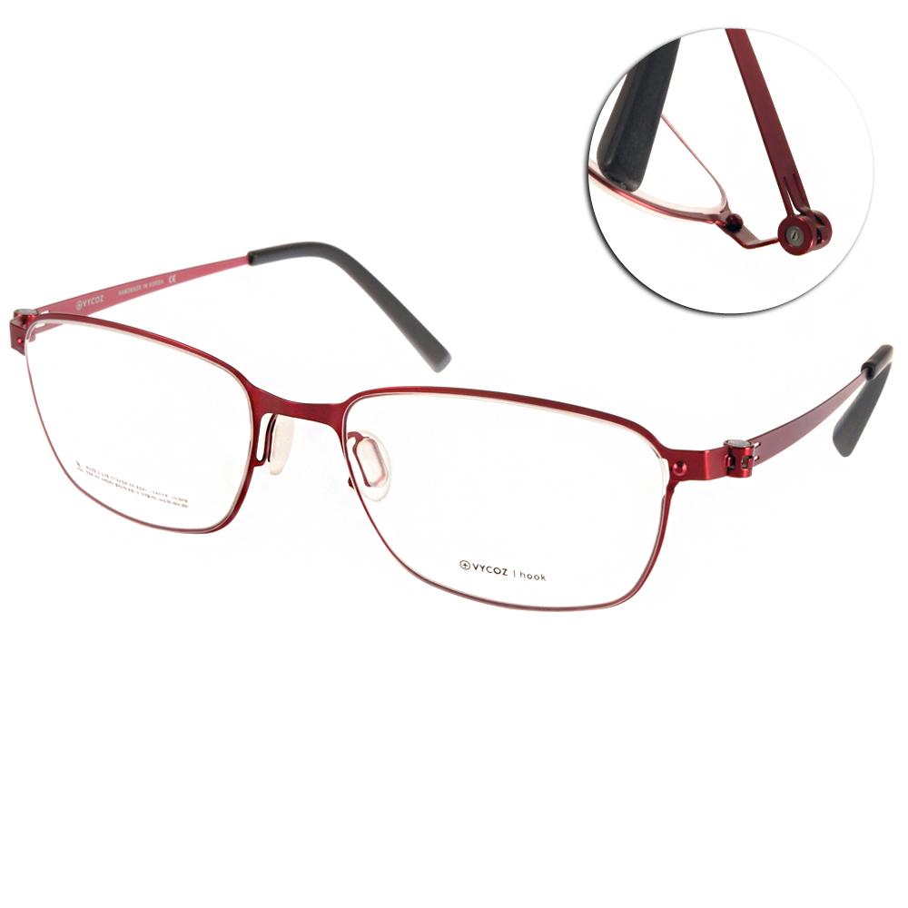 VYCOZ眼鏡 極簡薄鋼款/紅#TECK RED