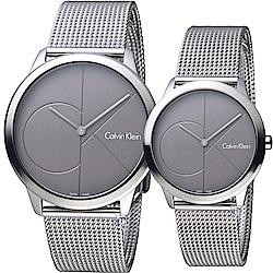 Calvin Klein Minimal穿越愛戀對錶(K3M21123+K3M22123)