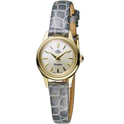 Rosemont茶香玫瑰系列 輕巧復古時尚腕錶-灰/22mm