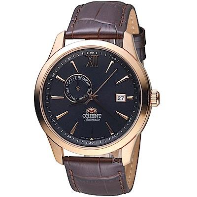 ORIENT東方錶 Classic Design系列簡約日期機械錶(FAL00004B)