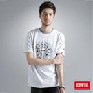 【EDWIN】503星作X新作 訂製星盤棉T-男款(白色)