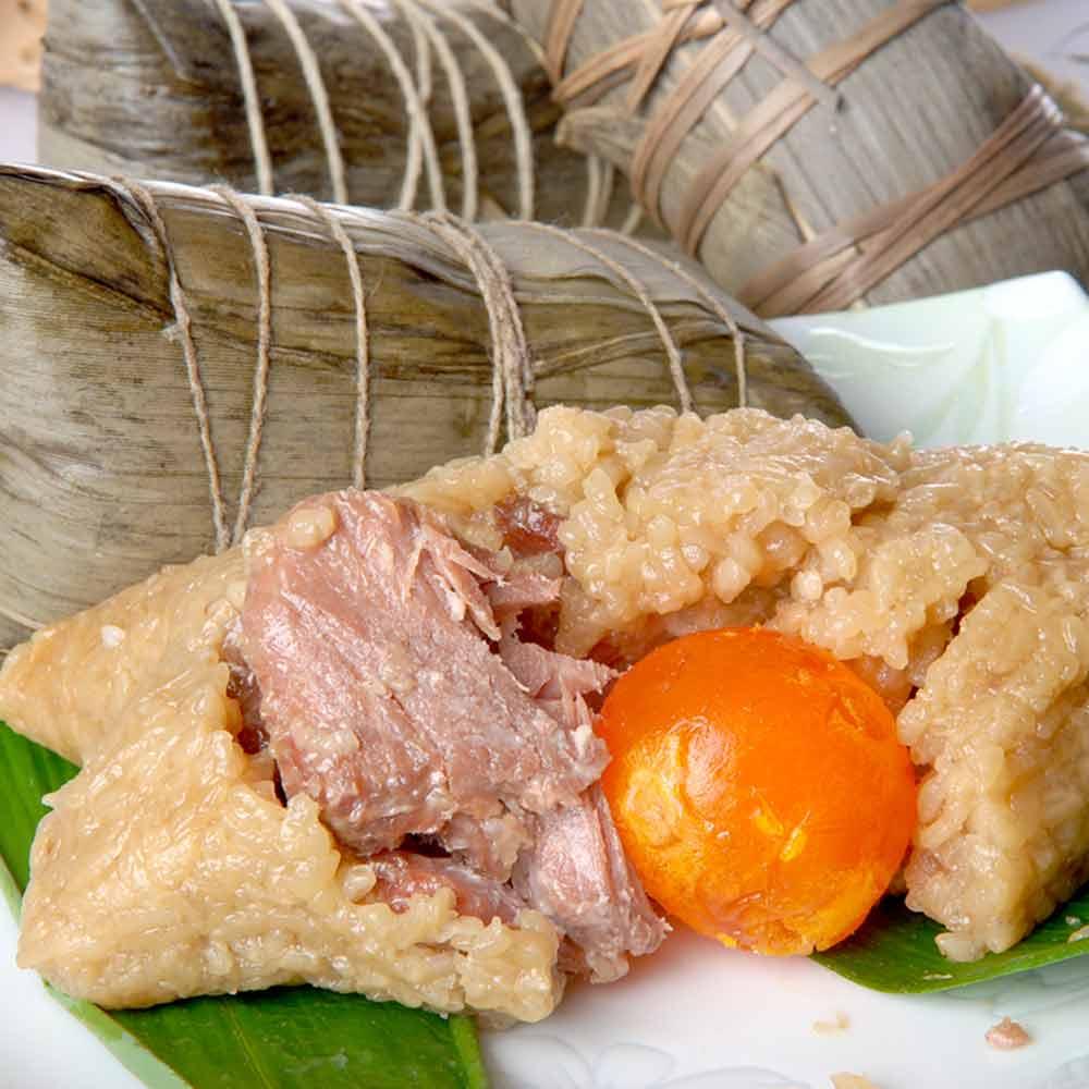 南門市場立家 湖州蛋黃鮮肉粽(200g*5入)
