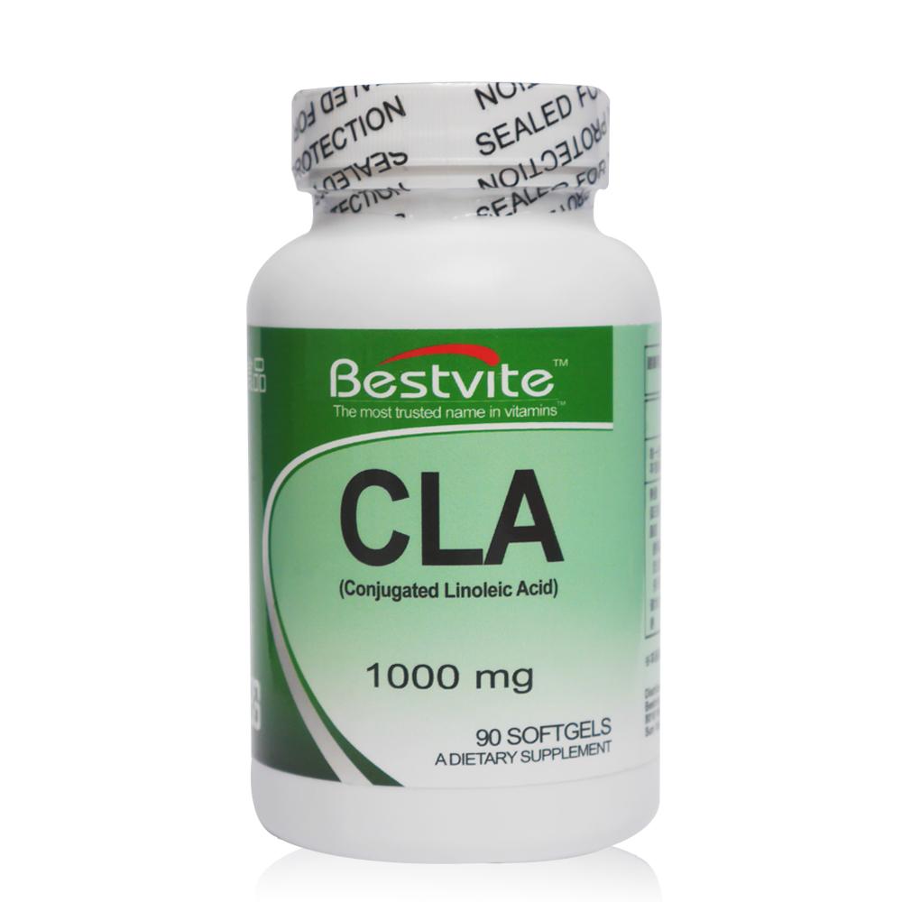 美國BestVite 必賜力紅花籽油富含CLA膠囊1瓶 (90顆) 效期2019年7月