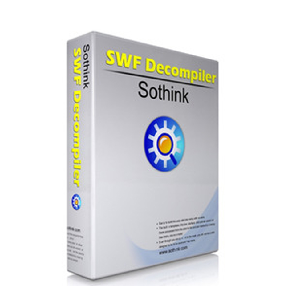 Sothink SWF Decompiler for Win (動畫設計編輯) 單機授權