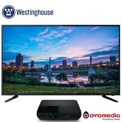 Westinghouse美國西屋 55吋 液晶顯示器 DET-55A10K+OVO 電視盒B5
