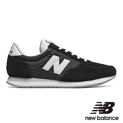 NEWBALANCE復古運動鞋-男/女U220BK麂皮黑色
