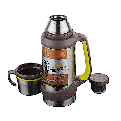 PUSH! 304不袗保溫壺旅行壺冷泡茶壺大容量2000ML E107