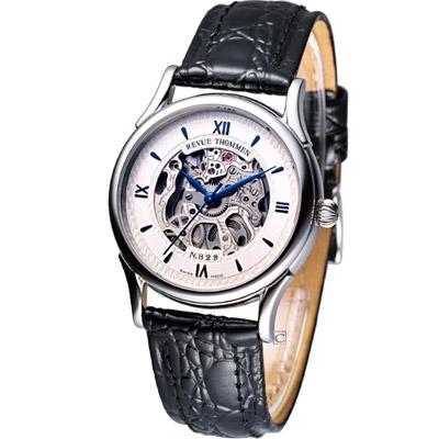 Revue Thommen 浮華世紀鏤空機械腕錶-34mm
