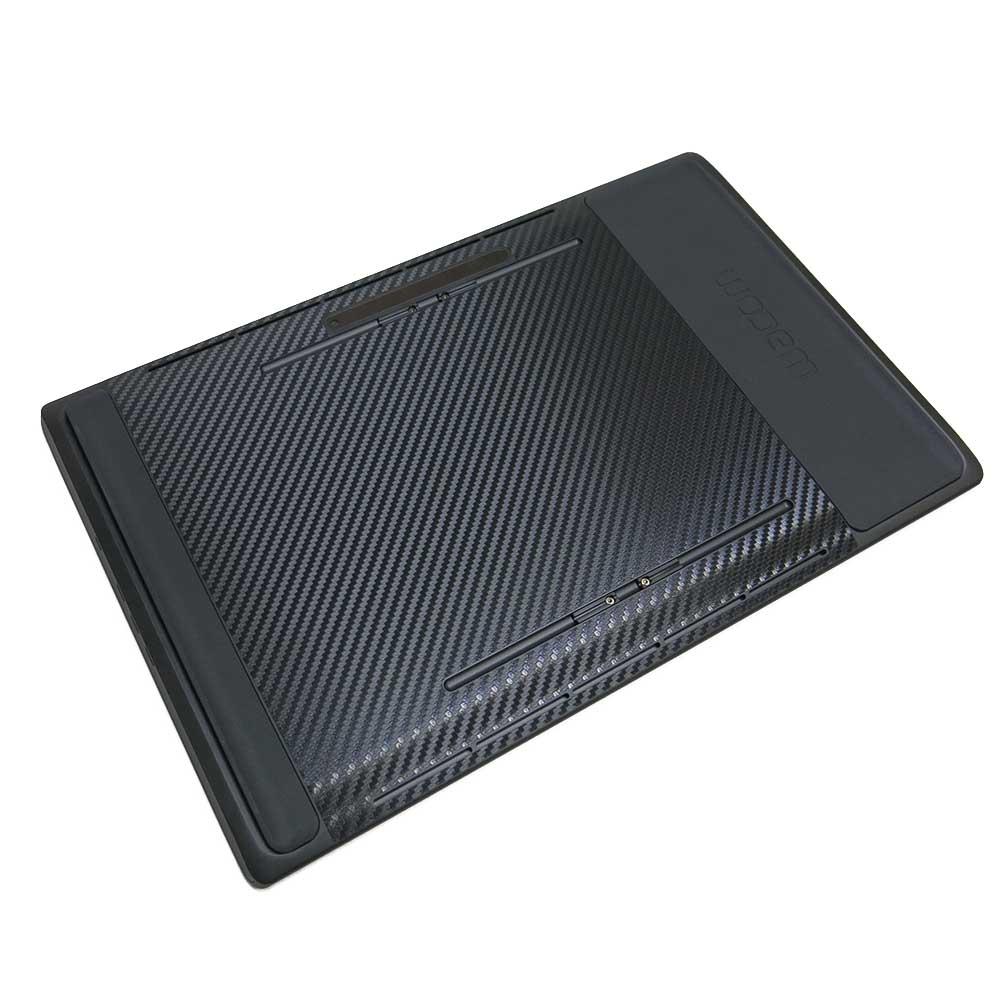 EZstick Wacom MobileStudio DTHW 1320 黑色立體紋機身貼