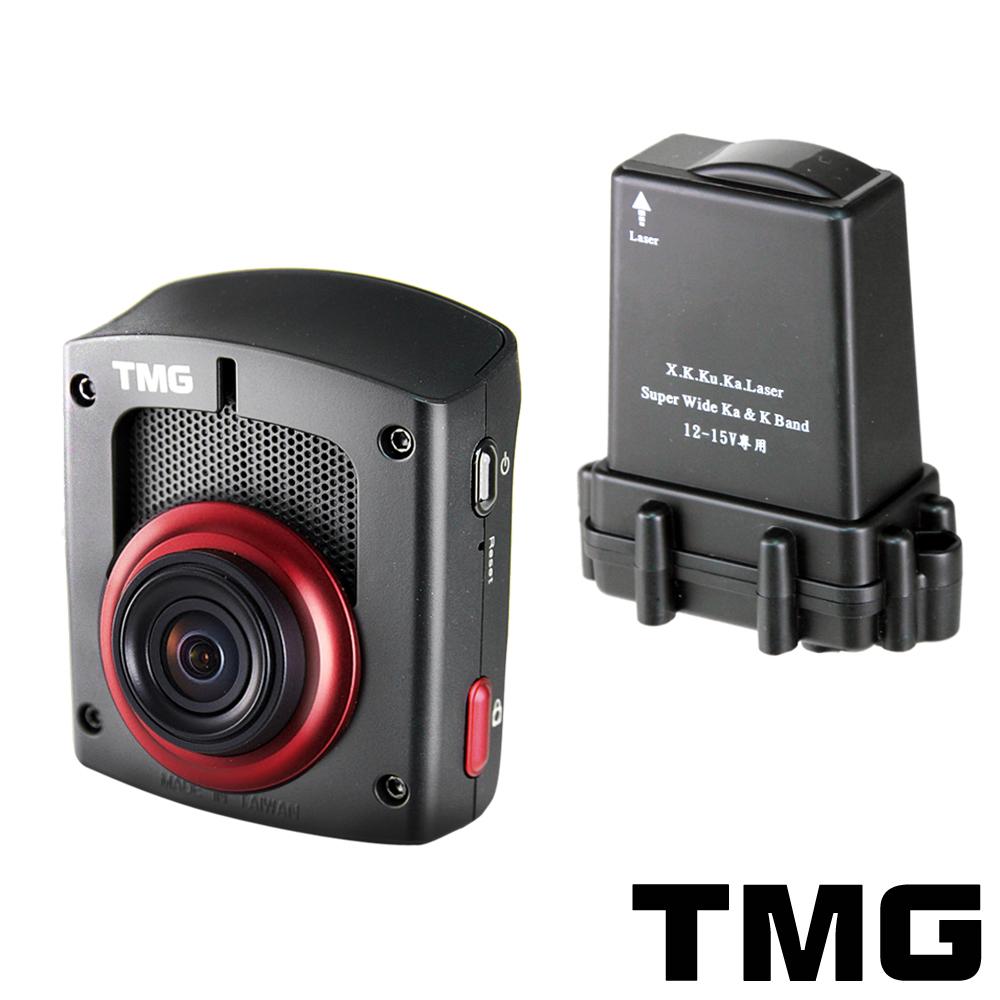 TMG DR1 GPS測速行車記錄器+分離式全頻雷達機