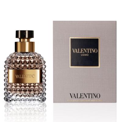 【Valentino范倫鐵諾】Uomo 同名男性淡香水50ml