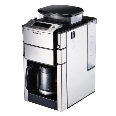 新格多功能全自動研磨咖啡機-SCM-1015S