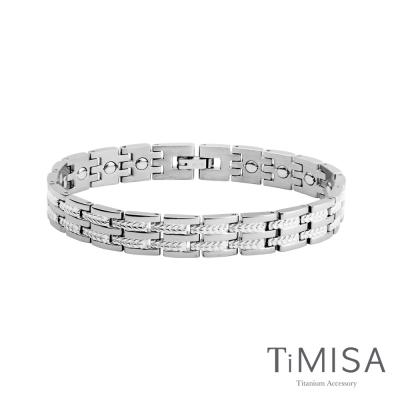 TiMISA《豐收之歌-細版》純鈦鍺手鍊(雙色可選)