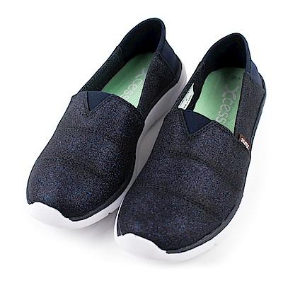 XCESS-女休閒鞋GW049NVY-星空藍