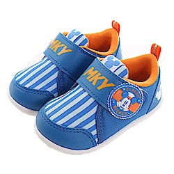 迪士尼米奇魔鬼貼止滑寶寶鞋 藍 sk0386 魔法Baby