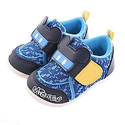 迪士尼米奇 休閒魔鬼氈寶寶鞋 藍 sk0229 魔法Baby